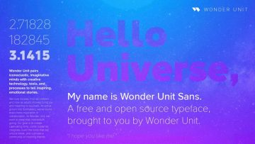 Wonder Unit Free Sans Font