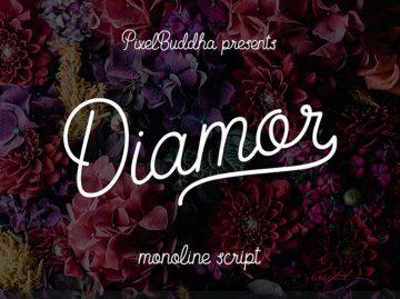 Free Diamor Script Font
