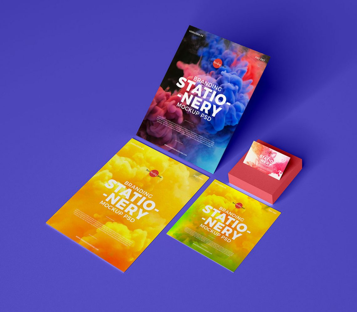Download Branding Stationery – Free Mockup