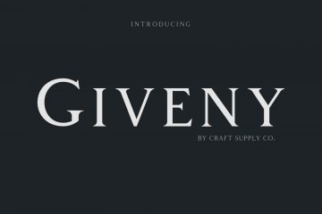 Giveny Classy Free Serif Font