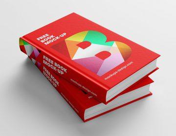 Free Exlusive Book Mockup