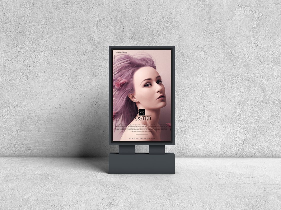 Advertising Billboard Free Mockup PSD For Presentation