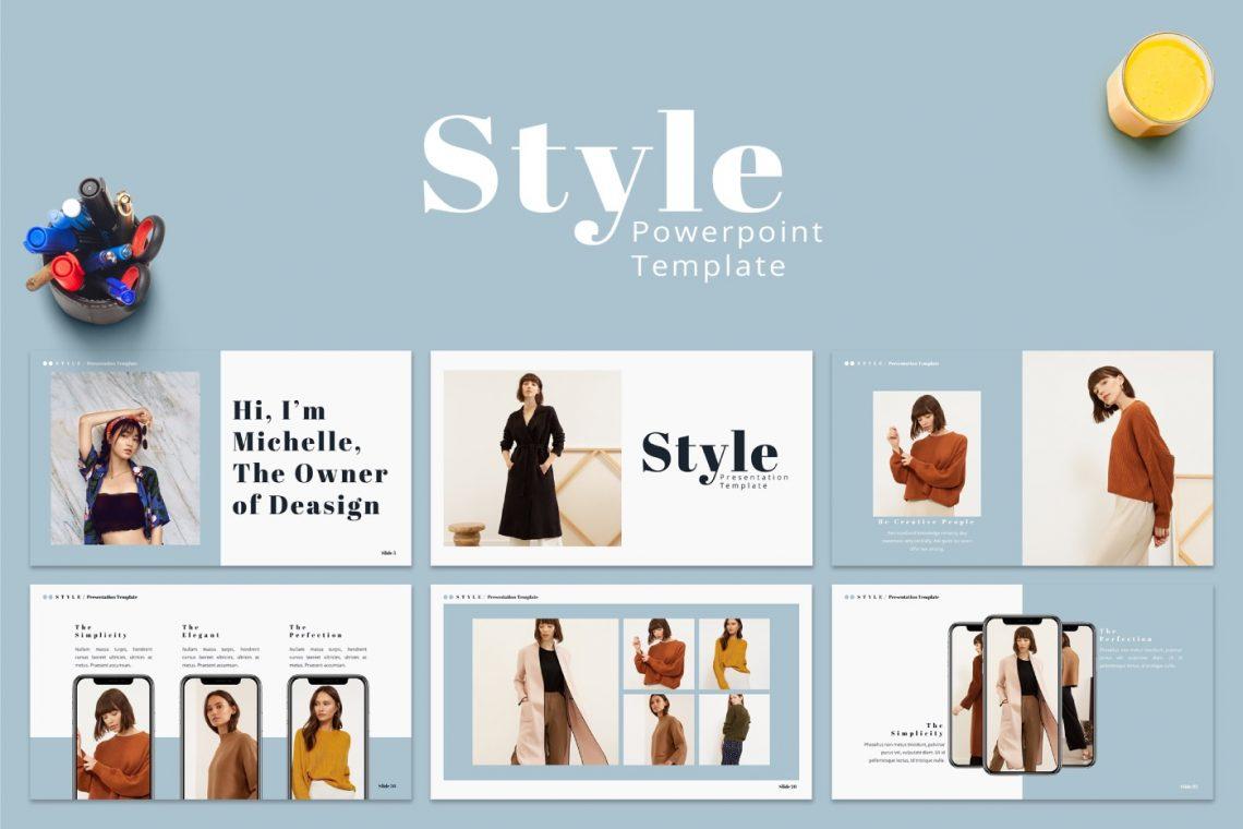 STYLE - Free Elegant Presentation Template.
