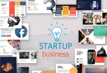 Free Start Up Business Presentation Template