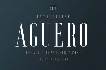 Free Aguero Elegant Serif Font