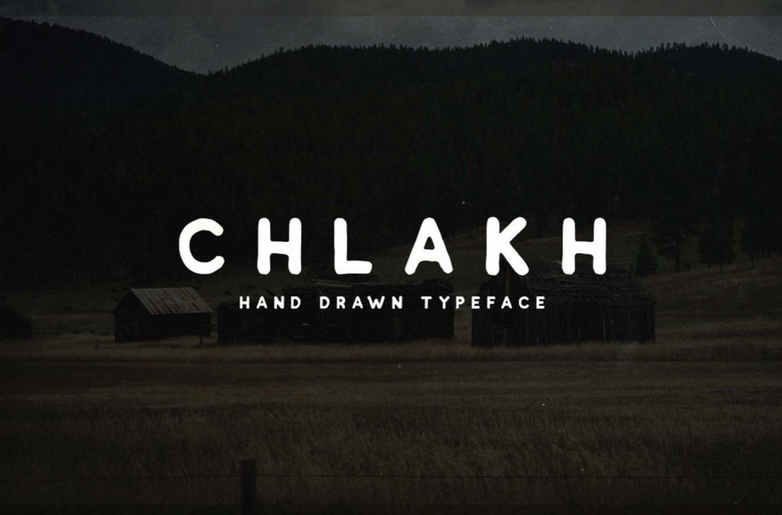 Free Chlakh Font.