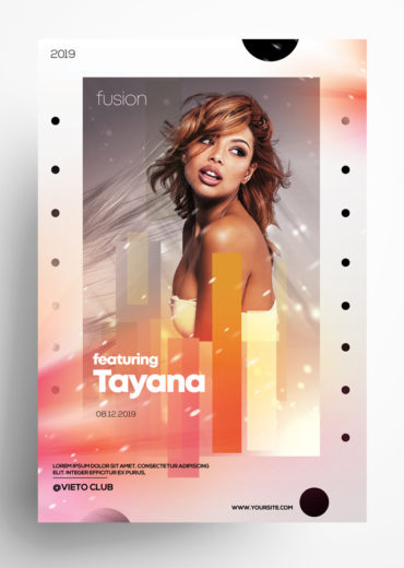 Artist Event – PSD Flyer Template
