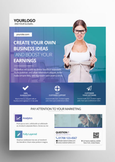 Creative Business PSD Flyer