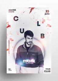 DJ Performance Free PSD Flyer Template