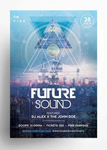 Future Sound PSD Flyer