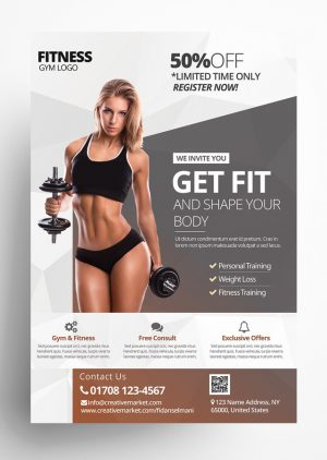 Get Fit – Fitness Flyer