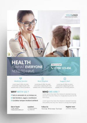 Medicine PSD Flyer