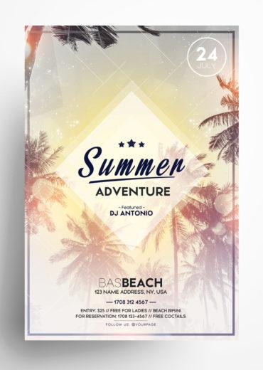 Summer Adventure Flyer