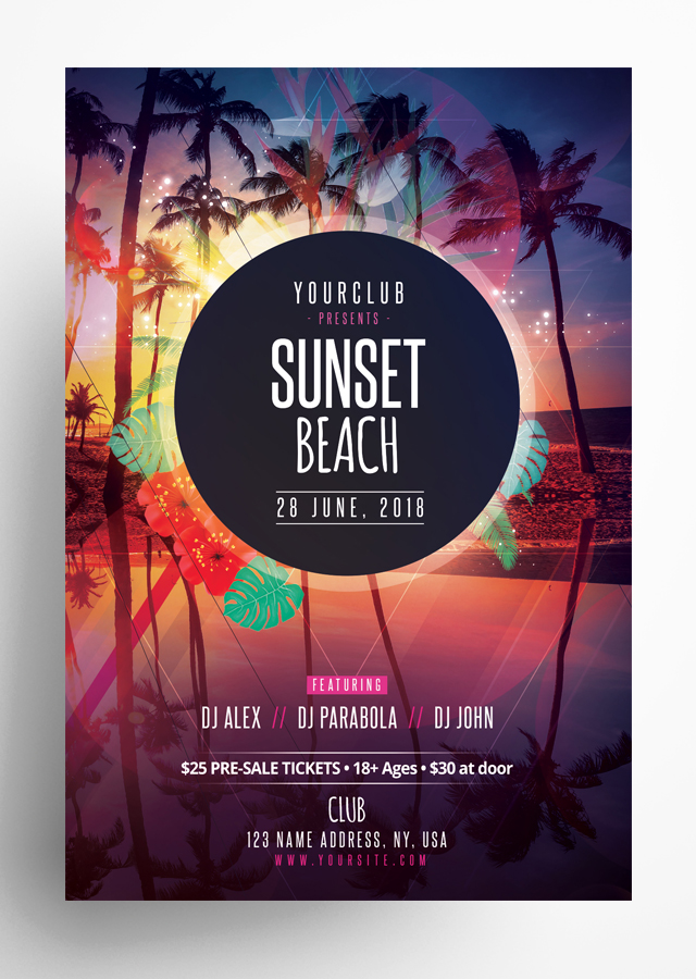 Sunset Beach Flyer