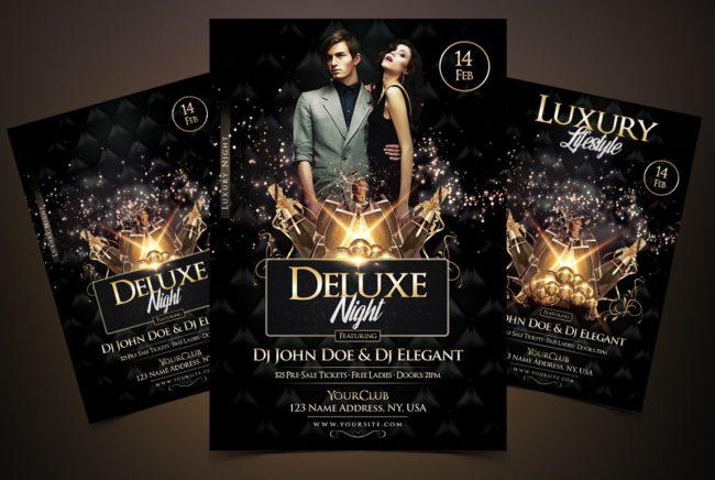 Deluxe Night - Luxury Elegant Flyer