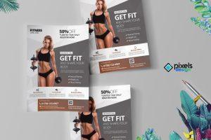 Get Fit - Fitness Flyer
