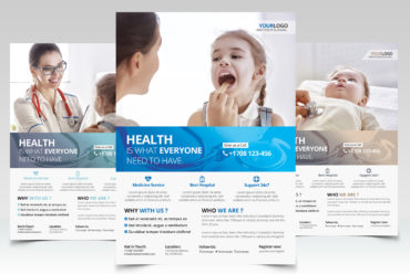 Health and Medical - PSD Flyer