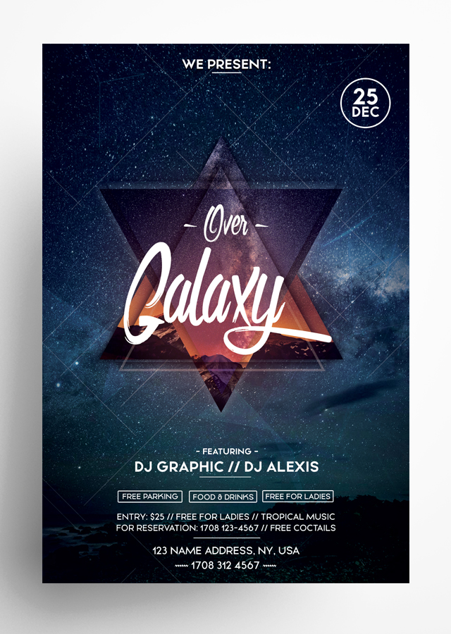 Over Galaxy Flyer