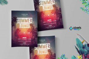Summer Lounge - PSD Flyer