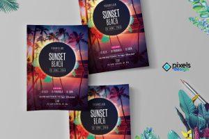 Sunset Beach Flyer