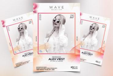 Wave - PSD Flyer Template