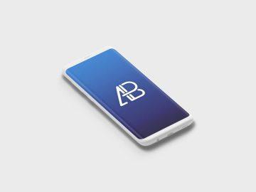 Clay Samsung Galaxy S8 Plus - Free Mockup