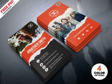 Fashion Store - Free Business Card