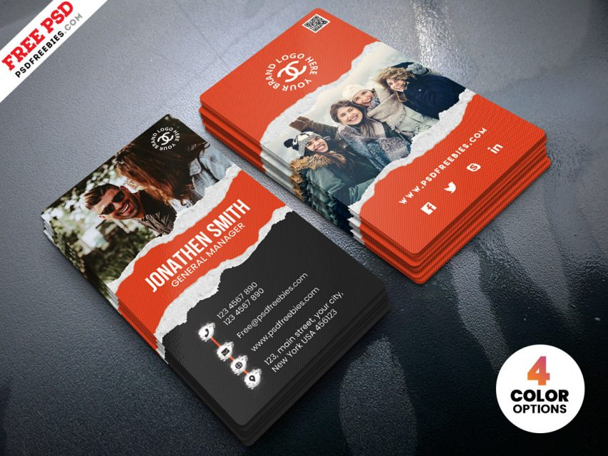 Fashion Store Free Business Card