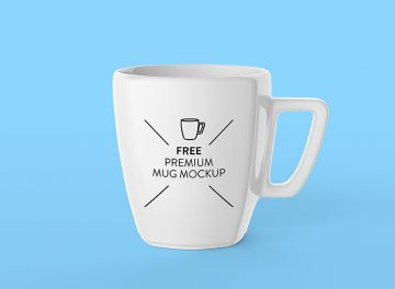 Mug - Free Mockup