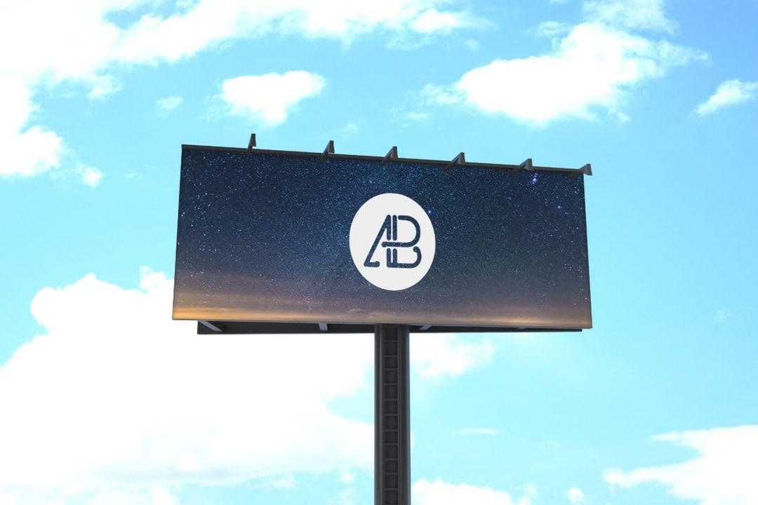 Free Billboard Mockup Vol.2