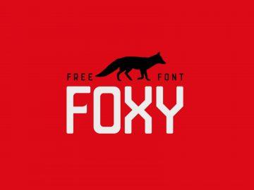 Foxy Free Sans Serif Font