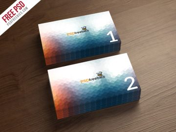 Business Card Free Mockup Template