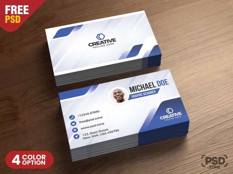 Free Modern Business Cards Design