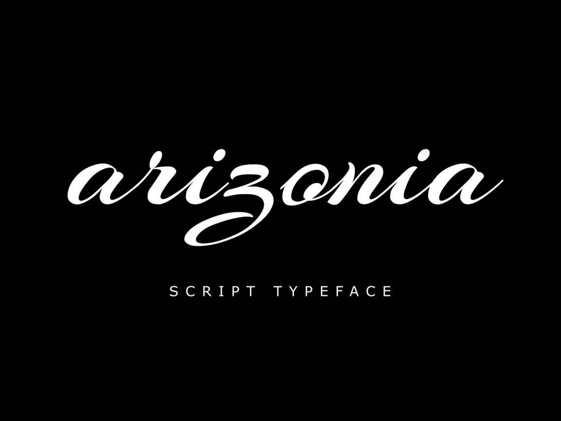 Arizonia Free Script Font