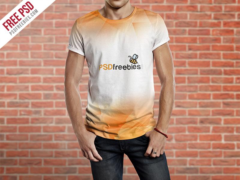 Men T-Shirt – Free Mockup