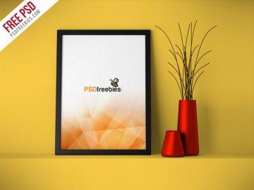 Flyer Poster Frame - Free Mockup