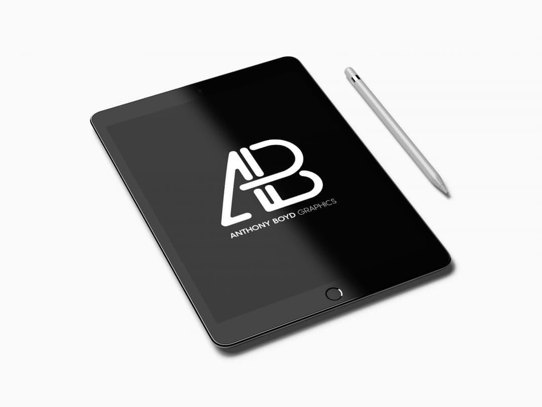 Realistic iPad Pro Free Mockup Vol.2
