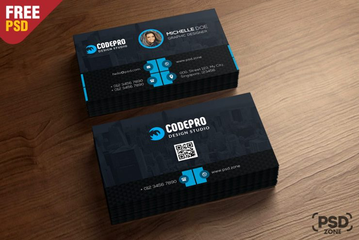 Corporate Free Business Card
