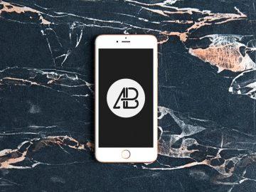Realistic iPhone 6s - Free Mockup