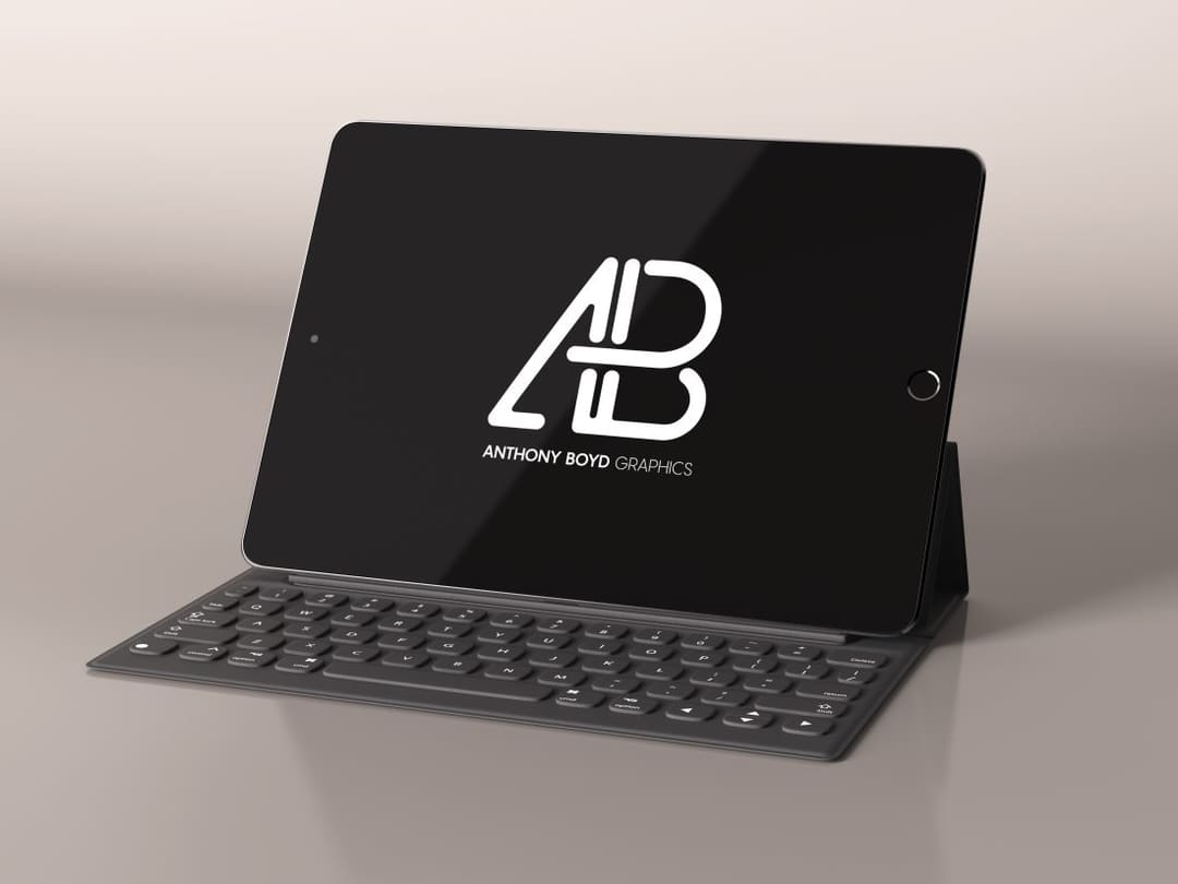 Realistic iPad Pro Free Mockup Vol.3