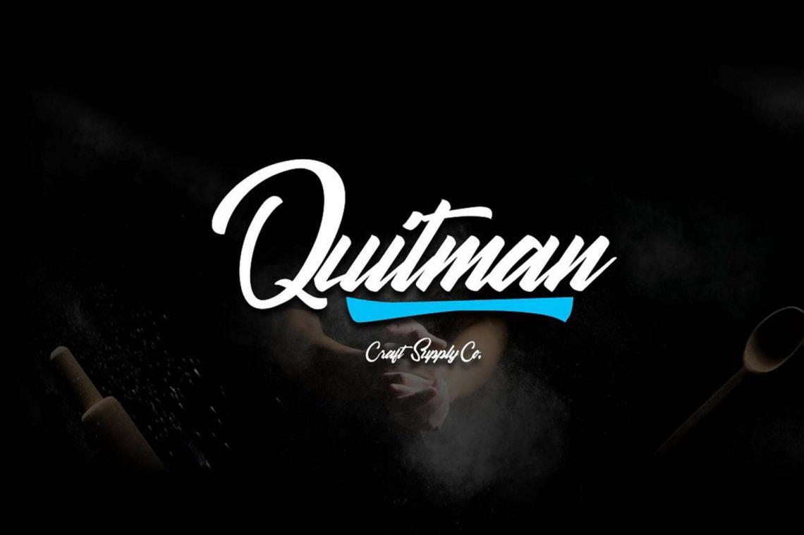 Quitman Script Free Font