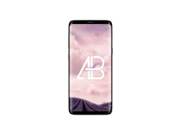 Samsung Galaxy S8 Plus Front View - Free Mockup