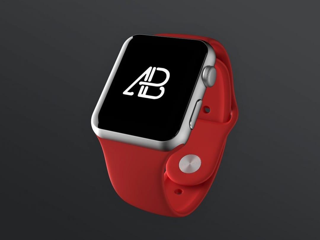Realistic Apple Watch Series 2 Free Mockup Vol.2