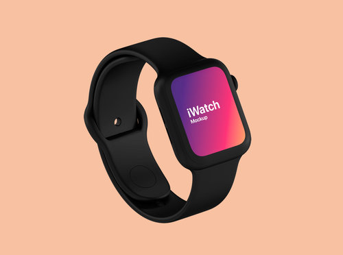 Apple Watch Device Design – Free Mockup