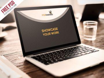 Macbook Pro Display Free Mockup