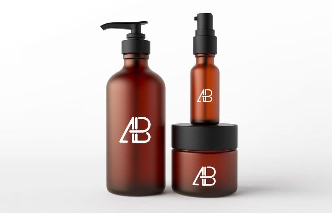 Cosmetic Packaging Free Mockup