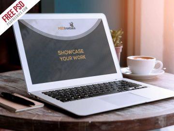 Macbook Air - Free Mockup