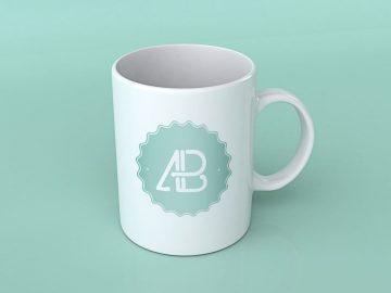 Realistic Coffee Mug - Free Mockup Vol.2