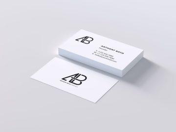 Modern Business Card - Free Mockup