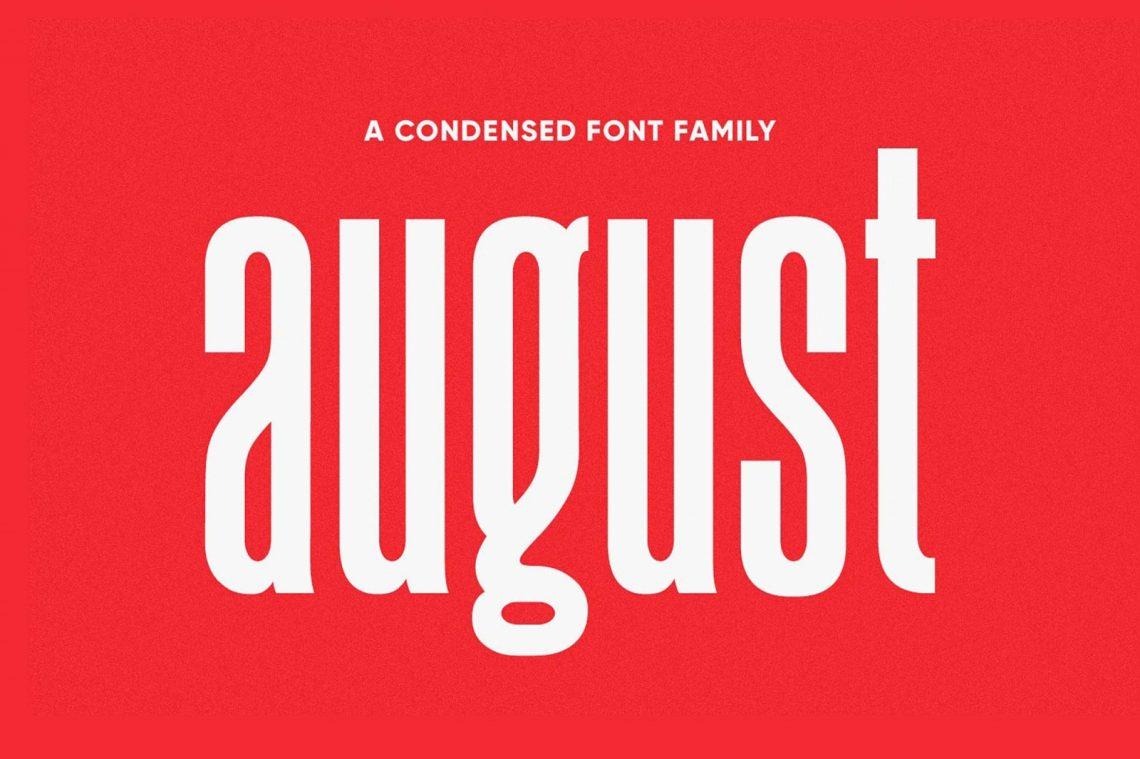 August Sans Free Font